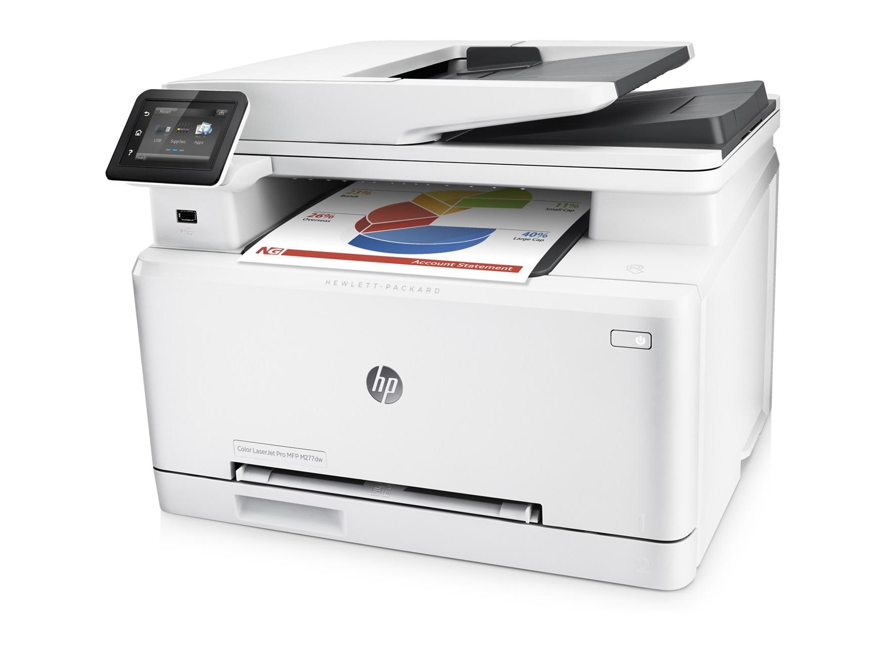 Color printer wireless - Hp Laserjet Pro M277dw Color Wireless