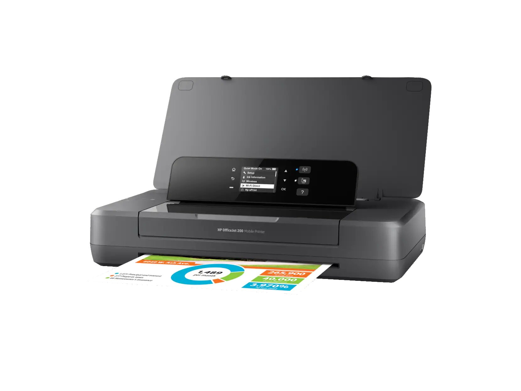 HP OfficeJet 200 Mobile Printer - Wizz Computers Ltd