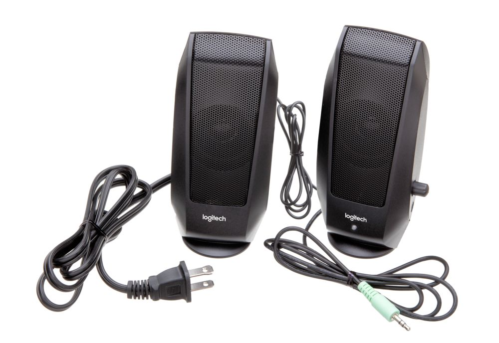 Logitech S120 Desktop Stereo Speakers - Wizz Computers Ltd